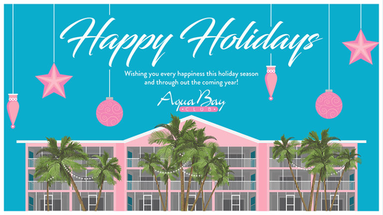Happy Holidays from Aqua Bay