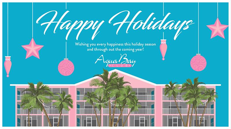 Happy Holidays from Aqua Bay