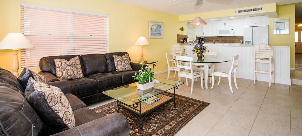 Living Room - Aqua Bay Club, Cayman Islands